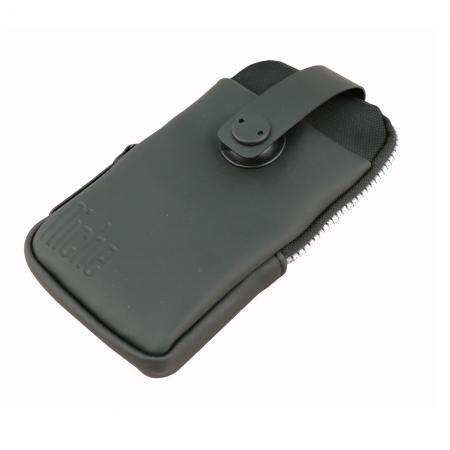 Mobiltelefonveske med skinntrim