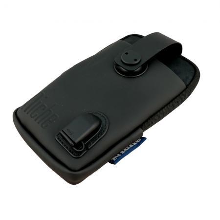 Pouzdro na telefon s USB portem pro nabíjení a koženou kapsou