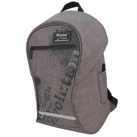 防潑水圓筒背包