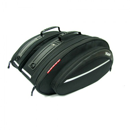 Saddle Bag Black Knight