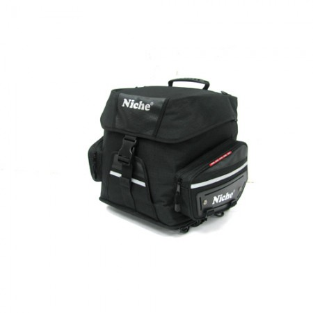 Rear Bag Black, Travel Luggage