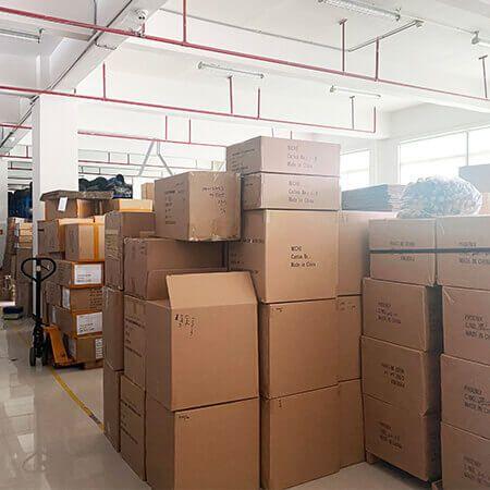 eksportkartong, pakking av varer