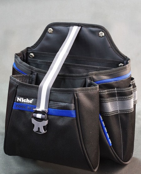 Electrician's Tool Pouch Tool Bag, Tool Organizer, Belt Waist Bag, Tool Holster Bag