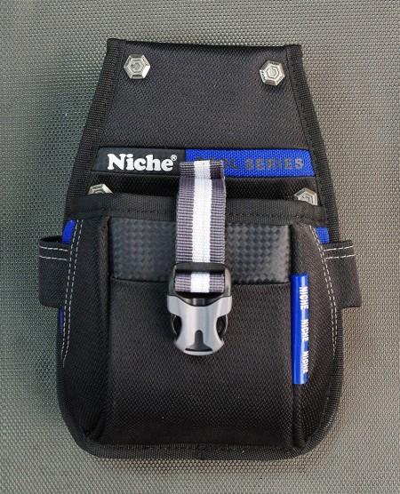 Kompakt åbnet værktøjstaske, flere bæremåder