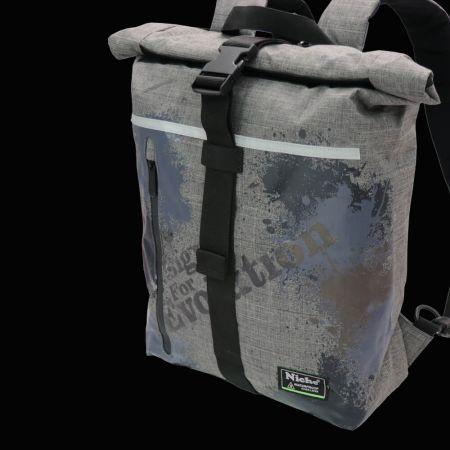 Bolsas impermeables con técnica de impresión única