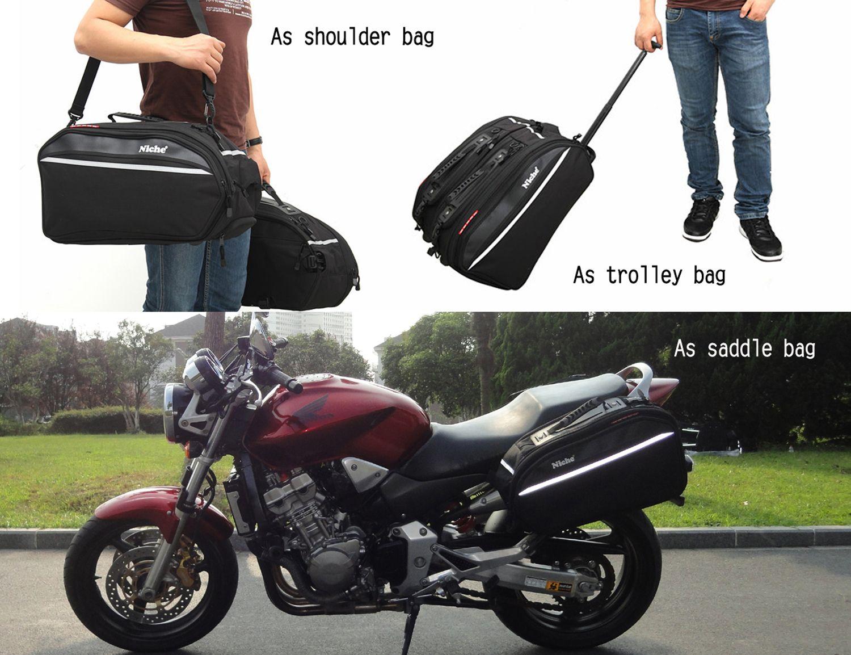 Wheel Trolley Saddlebag, Shoulder Bag
