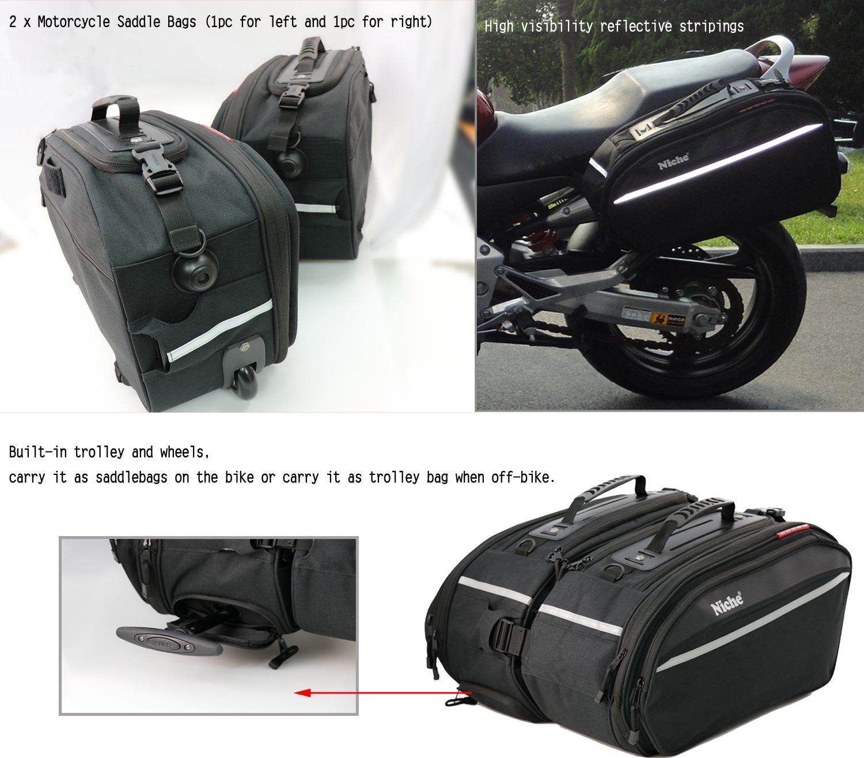 Vaster Motorrad//Motorrad Leder Satteltasche Equipment Storage Organizer Sitzpack Satteltasche wasserdichte Aufbewahrungsbox