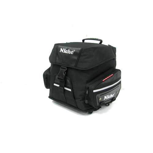 Niche motorcycle rear bag is soft luggage for bike
