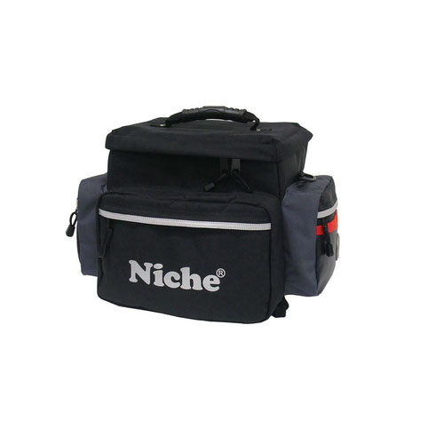 Niche Motorrad-Rückentasche ist eine wärmeisolierte Softtasche für Fahrräder