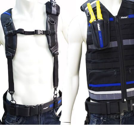 Tool Vest Tool Rig Tool Bag Carrying System