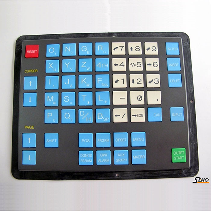 FANUC Key Sheet, Key Pad