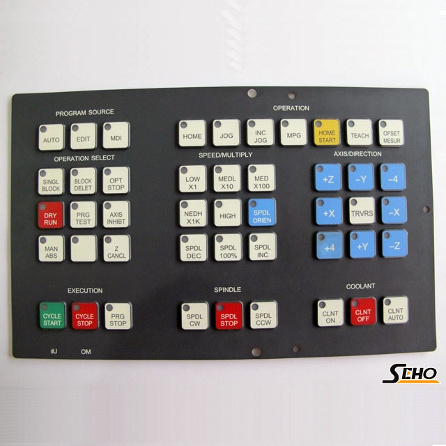 0M FANUC Key Sheet Key Pad