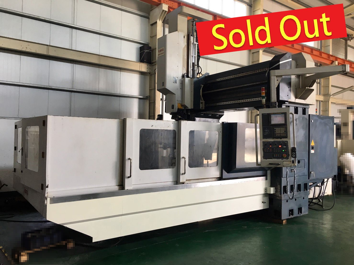 BMC-2622 KAFO CNC Double Column Machining Center