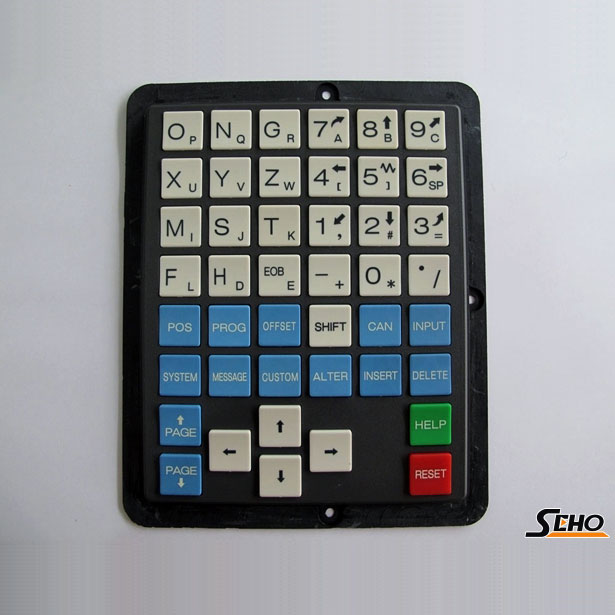 Half Key 0iM FANUC Key Sheet Key Pad