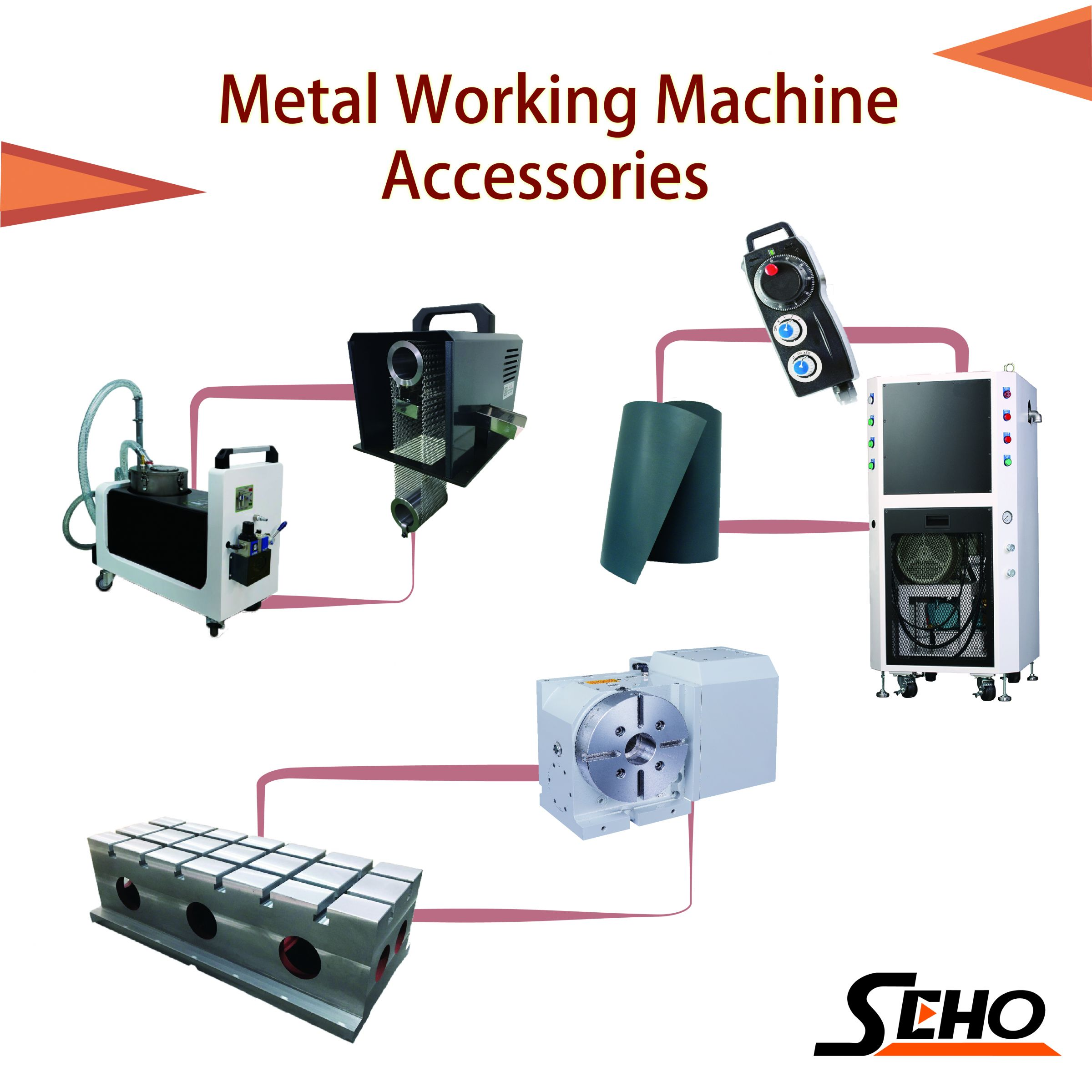 Machine Accessories, Machine Tool Accessories