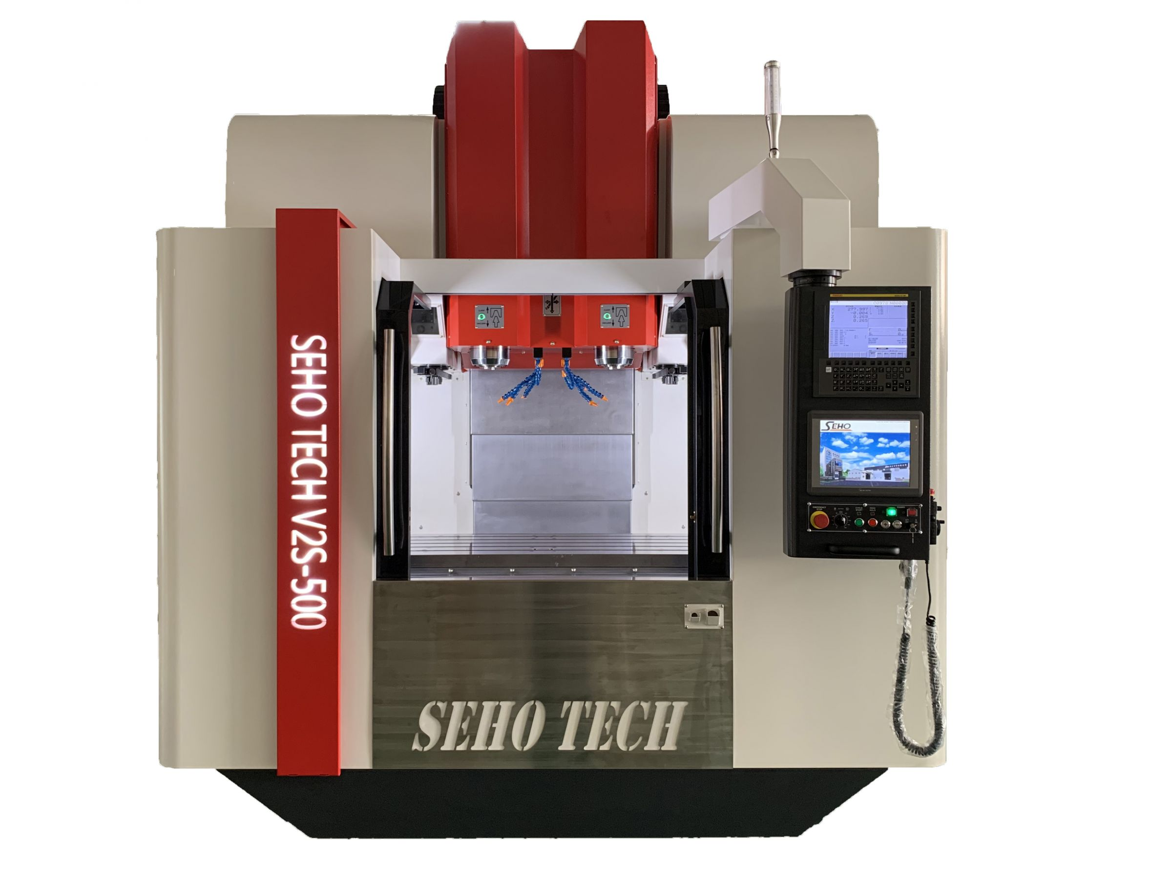 SEHO TECH Double Spindle Double ATC Vertical Machining Center
