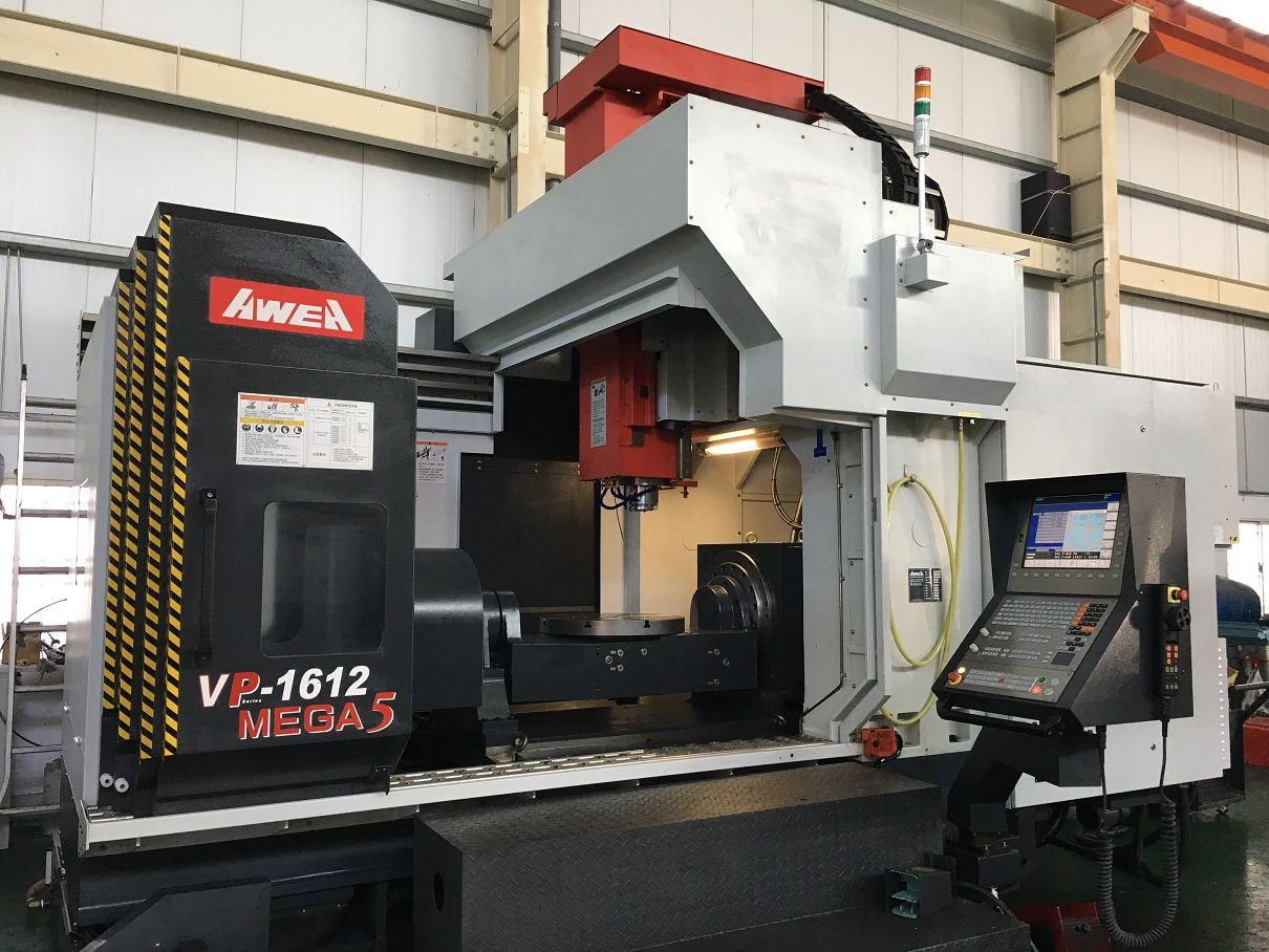 Used CNC 5-Axes Machining Centers