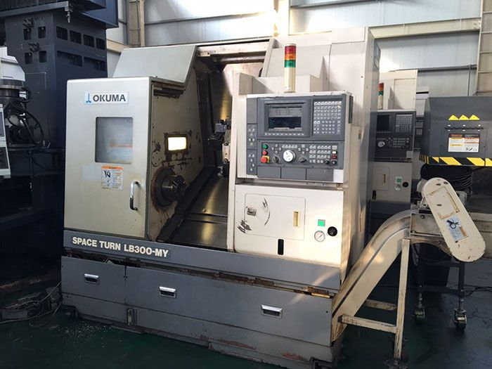 Digunakan CNC Turning Lathes, CNC Vertical Lathe
