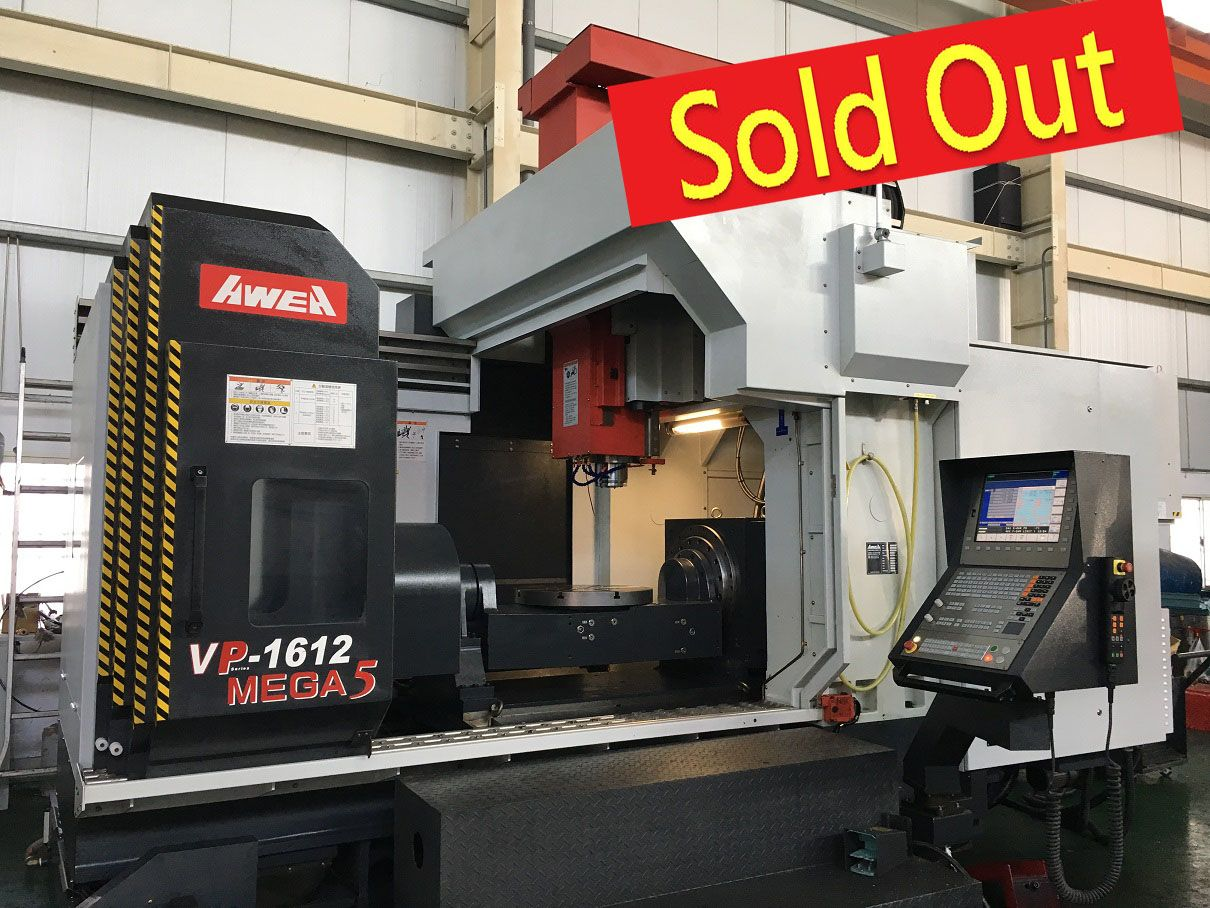 VP-1612-MEGA5 AWEA 5axis CNC Machining Center