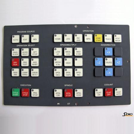 FANUC 0T Operation Key Pad - 0T FANUC Key Sheet Key Pad