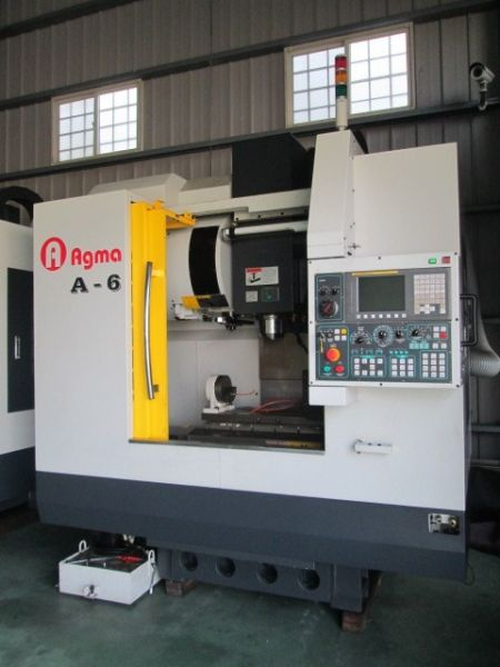 AGMA A6 CNC VERTICAL MACHINING CENTER