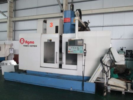 AGMA VMC-127HS CNC VERTICAL MACHINING CENTER