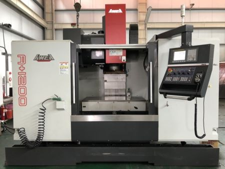 AWEA A+1200 CNC VERTICAL MACHINING CENTER