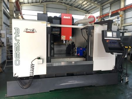 AWEA AV-1250 CNC VERTICAL MACHINING CENTER
