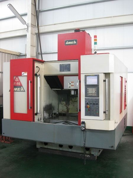 AWEA F-16 CNC VERTICAL MACHINING CENTER