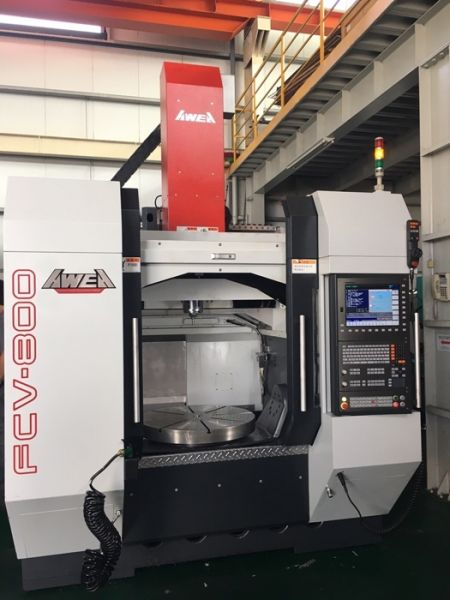 AWEA FCV-800 CNC GANTRY TYPE 5-AXES MACHINING CENTER