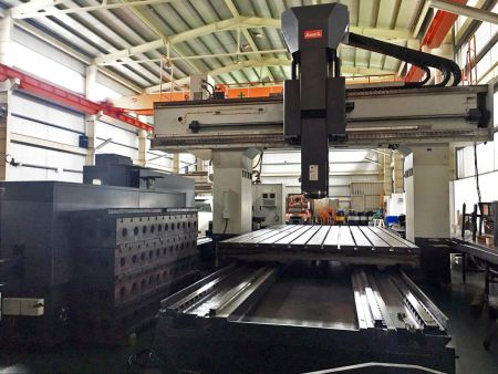 AWEA HVM-5032 CNC 5FACE DOUBLE COLUMN MACHINING CENTER
