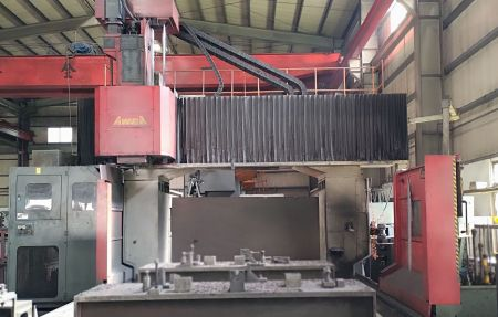AWEA CNC DOUBLE COLUMN MACHINING CENTER