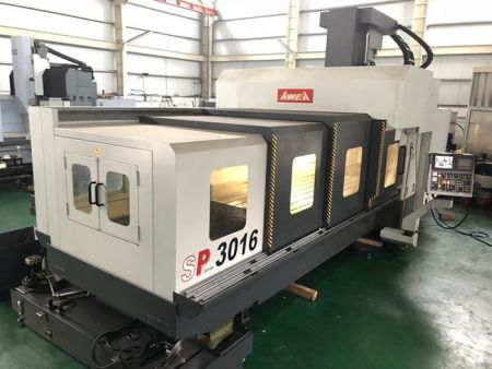 AWEA SP-3016 CNC DOUBLE COLUMN MACHINING CENTER