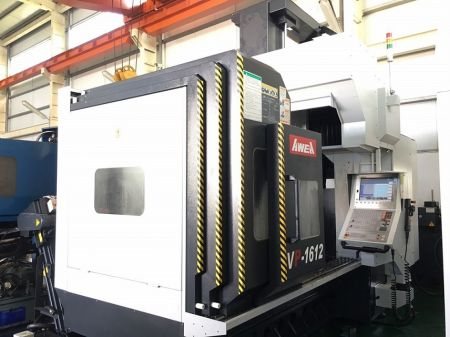 AWEA VP-1612-MEGA5 CNC DOUBLE COLUMN MACHINING CENTER