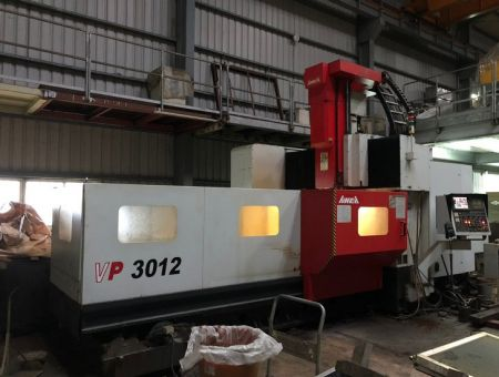 AWEA CNC DOUBLE COLUMN MACHINING CENTER - VP-3012 AWEA CNC DOUBLE COLUMN MACHINING CENTER