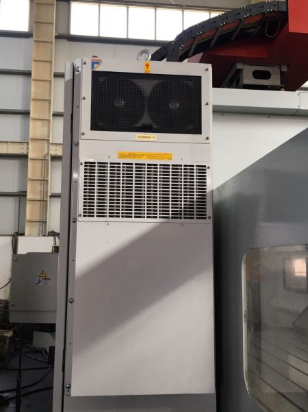 AWEA SP-3016 CNC DOUBLE COLUMN MACHINING CENTER_Heat exchanger
