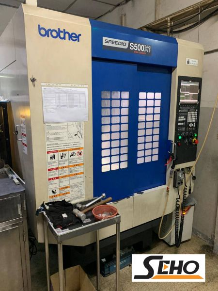 BROTHER S500X1 CNC TAPPING CENTER