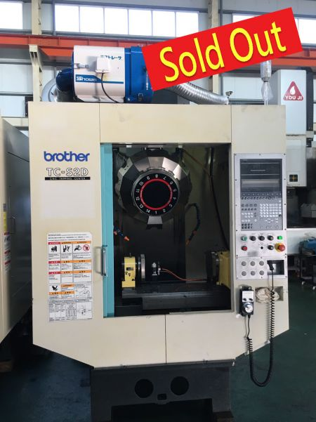 BROTHER CNC TAPPING CENTER - TC-S2D BROTHER CNC TAPPING CENTER