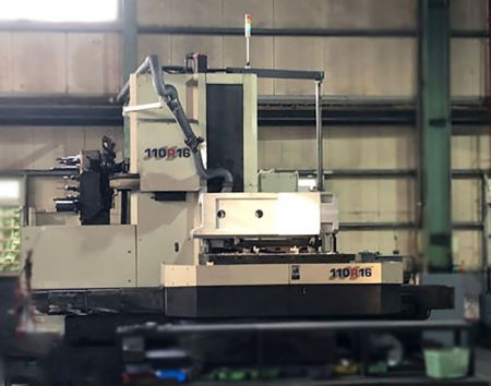 TOSHIBA CNC BORING MILL MACHINE - BTD110R16 TOSHIBA CNC Boring Mill Machine