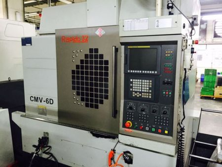 CHAMPMILL CMV-6D CNC VERTICAL MACHINING CENTER