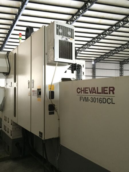 CHEVALIER FVM-3016 CNC DOUBLE COLUMN MACHINING CENTER