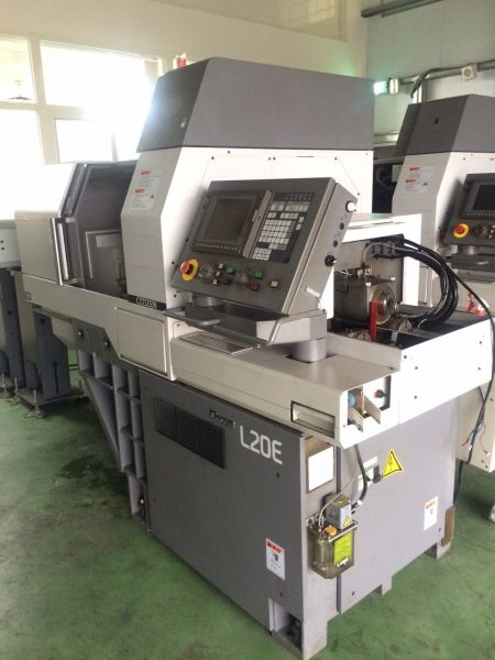CITIZEN L20E CNC AUTOMATIC LATHE