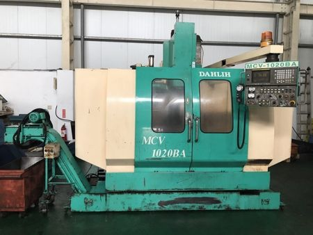 DAHLIH MCV1020BA CNC VERTICAL MACHINING CENTER
