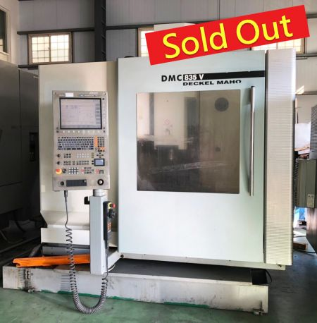 DMG CNC Machining Centers - DMC835V DMG CNC Machining Centers