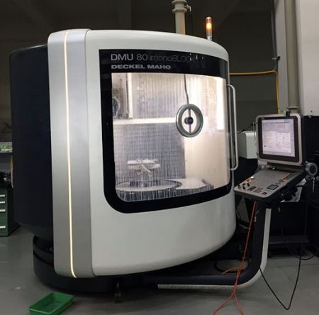 DMG DMU80monoBLOCK CNC VERTICAL MACHINING CENTER