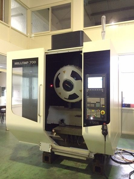 DMG MILLTAP 700 CNC VERTICAL DRILL-TAP MACHINING CENTER