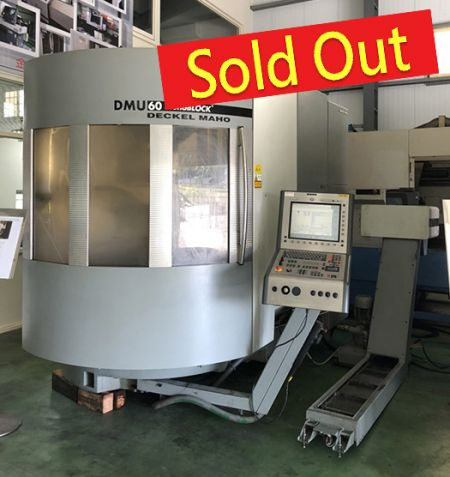 Pusat Mesin DMG CNC - DMU60 mB Digunakan DMG CNC Machining Center