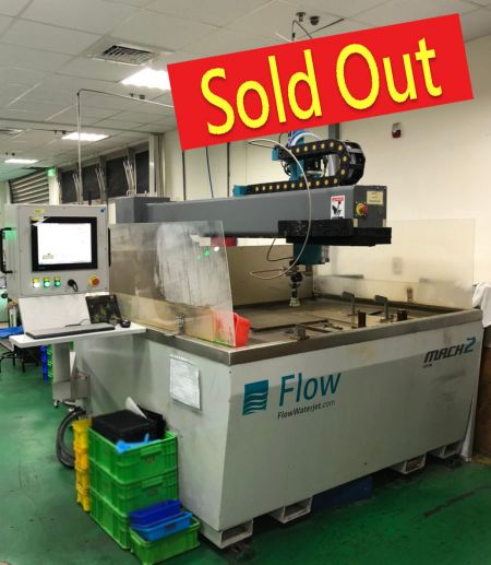 FLOW WATERJET CUTTING MACHINE - M2-1313B FLOW WATERJET CUTTING MACHINE