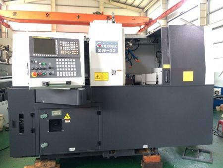 GOODWAY SW-32 CNC SWISS TURNING LATHE