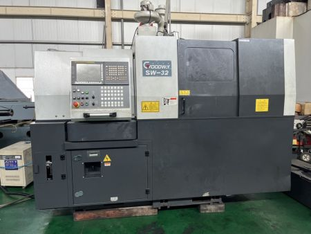 GOODWAY CNC SWISS TURNING CENTER - GOODWAY SW-32 CNC SWISS TURNING CENTER